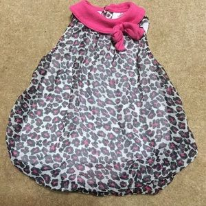 4 /$20 Baby Essentials 9mo animal print bubble